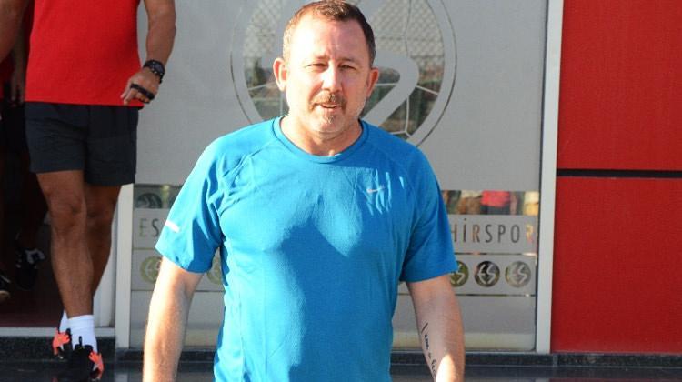 Eskişehirspor'da Sergen Yalçın krizi!