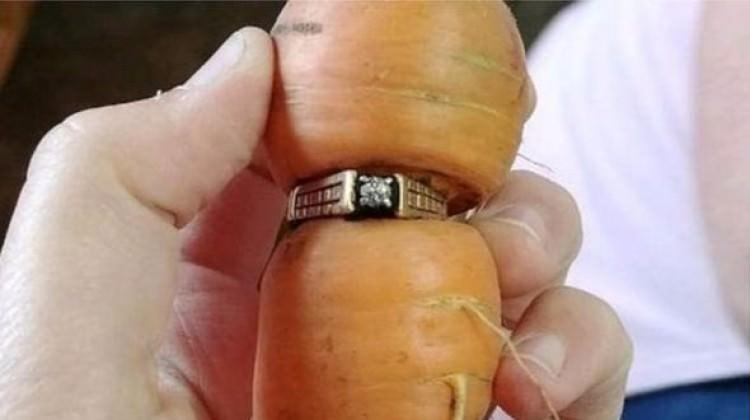 13 yıldır kayıp olan evlilik yüzüğü böyle bulundu
