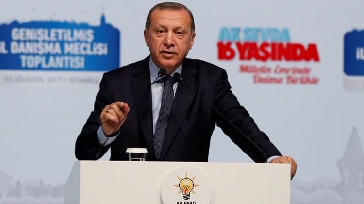Erdoğan: Gözümüzü karartırız