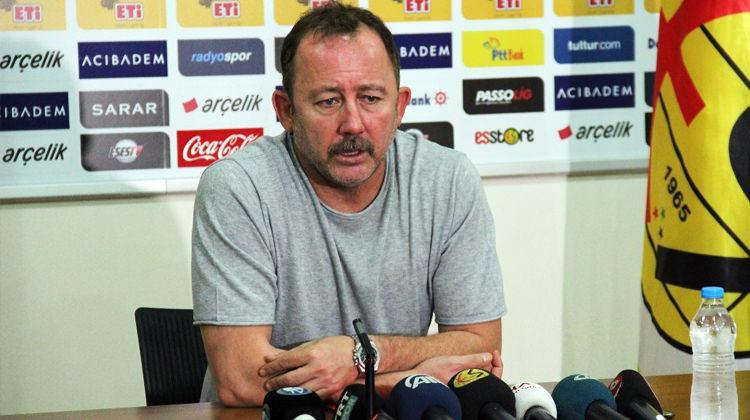 Sergen Yalçın'dan oyuncularına eleştiri!