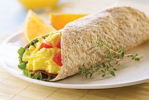kahvaltılık wrap