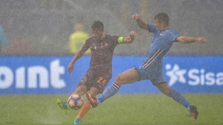 Sampdoria-Roma maçı ertelendi