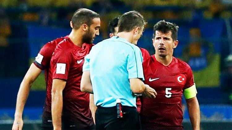 Ukrayna maçının hakemi şikayet edildi