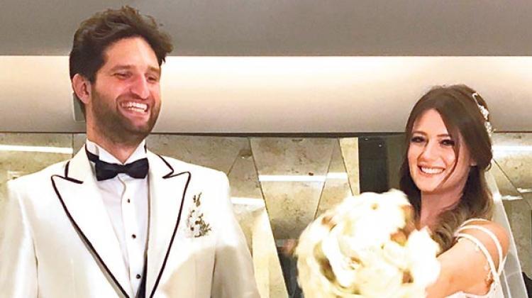 Gizem Karaca evlendi