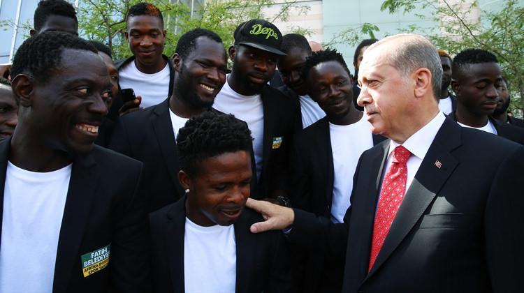 Erdoğan'ın ilgisini çeken futbol takımı!