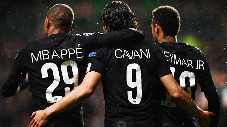 Paris Saint Germain yıldızlarıyla farka koştu!
