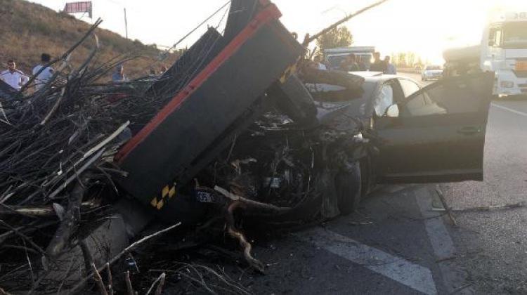 Sungurlu'da kaza: 2 yaralı