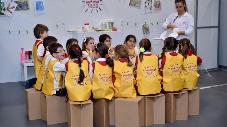 Ülker Çocuk Atölyesi Contemporary İstanbul'da