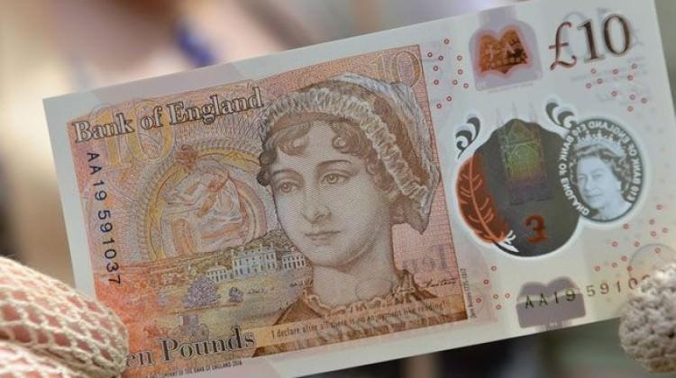 Yeni 10 sterlin yarın tedavülde