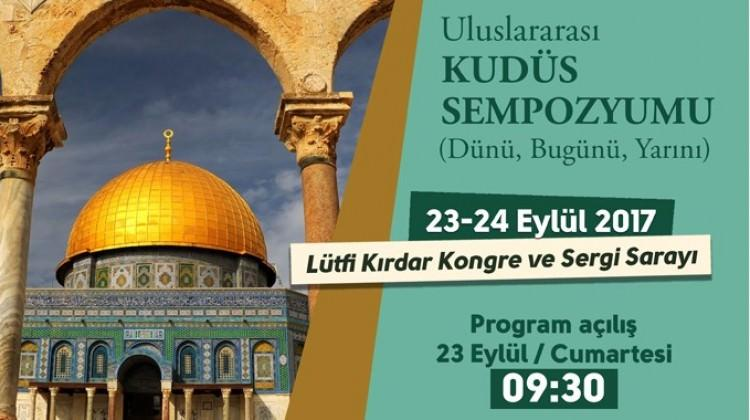 İstanbul'da Uluslararası Kudüs etkinliği