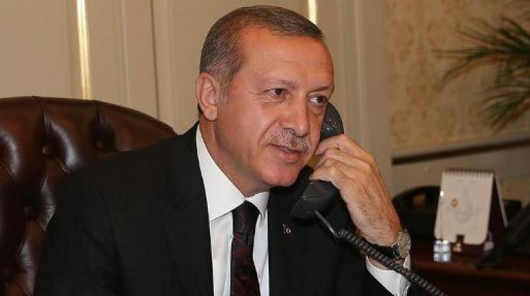 Cumhurbaşkanı Erdoğan'dan milli halterciye telefon