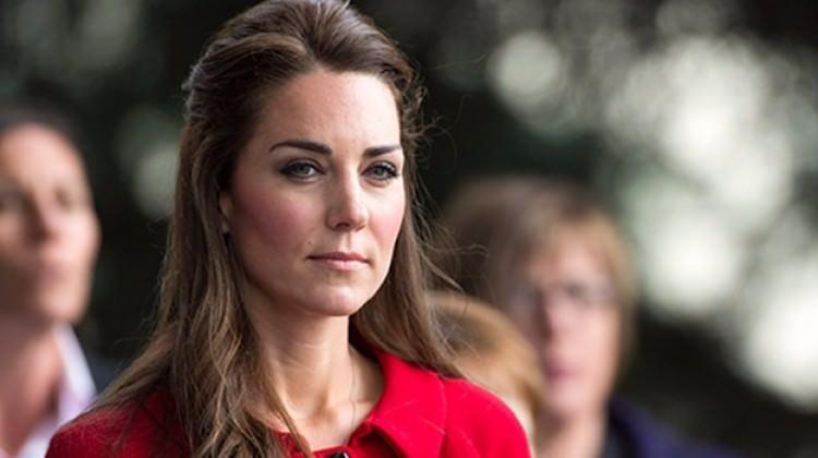 Kate Middleton perişan halde!