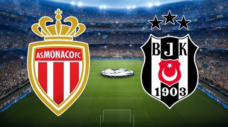 Monaco - Beşiktaş maçı ne zaman? Beşiktaş'ın maçı şifresiz kanalda mI?