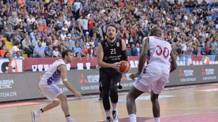 Beşiktaş Sompo Japan, Trabzonspor'u devirdi