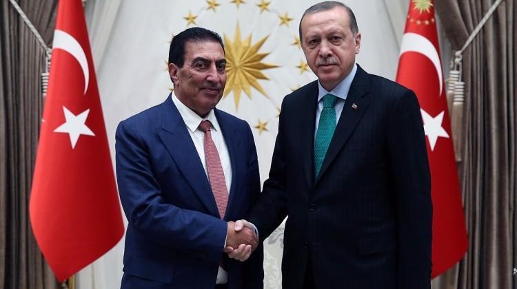 Cumhurbaşkanı Erdoğan et-Taravine'yi kabul etti