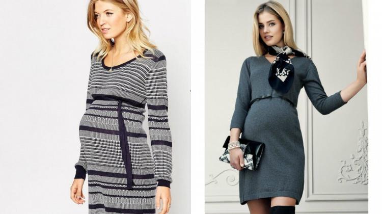 Sonbaharı triko elbiselerle karşılayın!