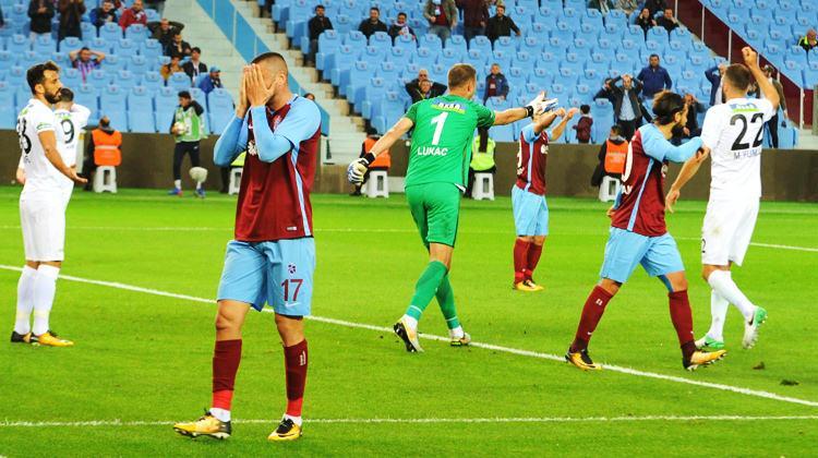Trabzonspor'dan tarihi mağlubiyet!