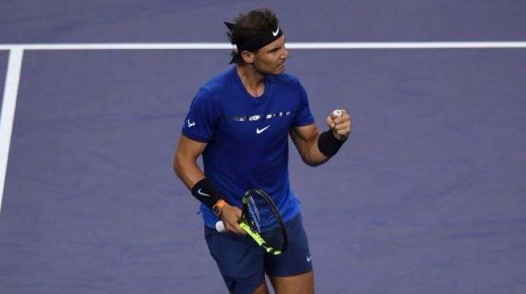 Rafael Nadal, Şanghay'da yarı finale çıktı