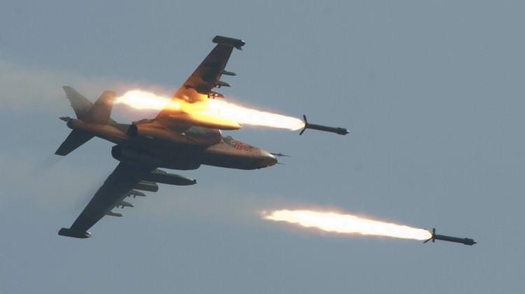 Rus savaş uçakları vurdu! En az 35 ölü, 50 yaralı