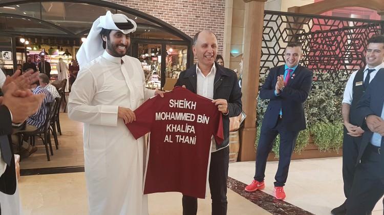 Trabzonspor ile El Sadd kardeş kulüp oldu
