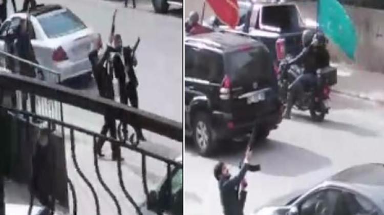 Burası Konya: Cephaneyle sokağa fırladılar!