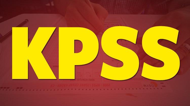2018 KPSS lisans ve önlisans sınavı ne zaman? ÖSYM