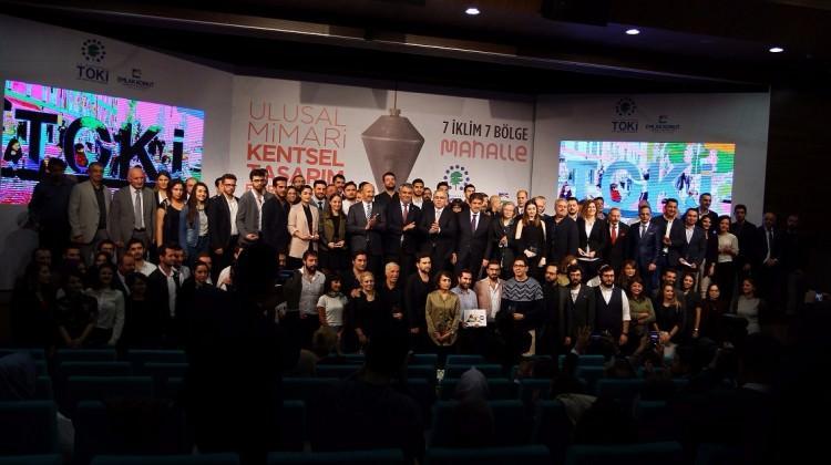 TOKİ'den 35 'Mahalle' projesine ödül