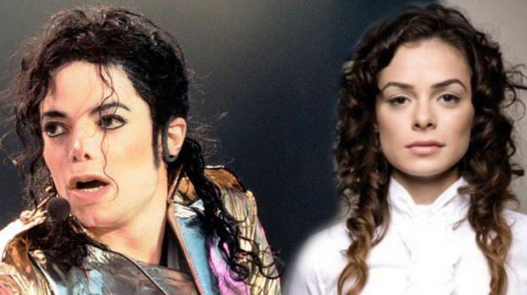 Özge Özpirinçci Michael Jackson'a benzetildi!