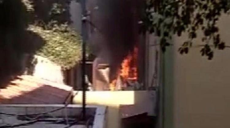 Haseki Hastanesi'nde korkutan yangın