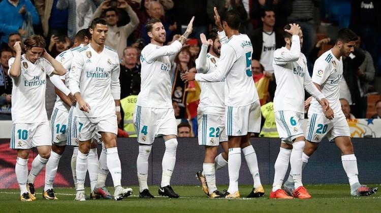 Real Madrid'den seriye devam