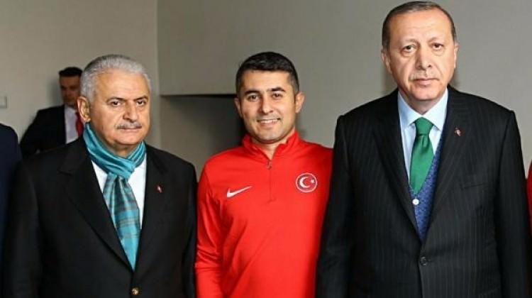 Erdoğan ve Yıldırım bir arada ağırladılar