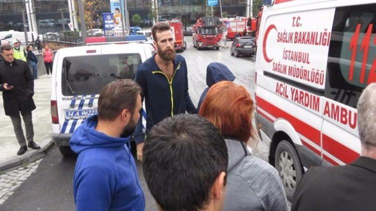 F.Bahçeli yıldız Ataşehir'deki yangından etkilendi