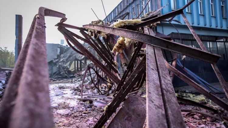 Erzincan'da elektrik akımına kapılan işçi öldü