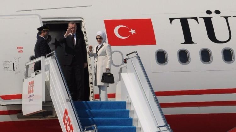 Erdoğan'ın uçağında sürpriz isim! Buzlar eridi