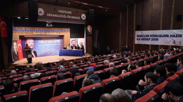 AK Parti Gençlik Kolları'da kongre heyecanı