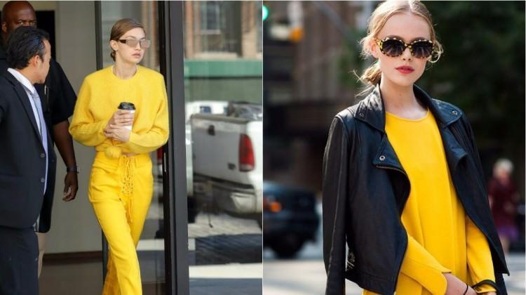 d19aa707d19a8 Sezonun sürpriz trendi: Sarı nasıl kombinlenir? - Moda Haberleri