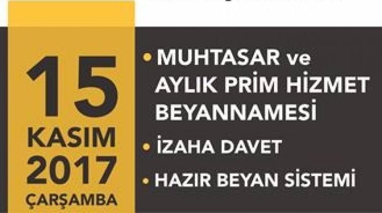 SGK ve Muhtasar birleştirilmesi hakkında seminer