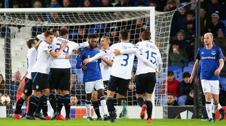 Atalanta, Everton'ı dağıttı