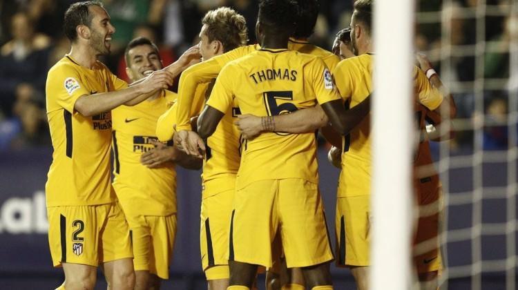 Atletico Madrid gol olup yağdı!