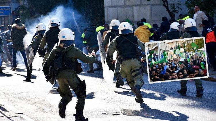 Atina'da Müslümanlara saldırı!