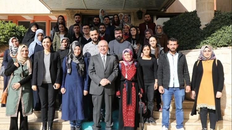 Öğrenciler Kudüs'ten Mardin'e döndü