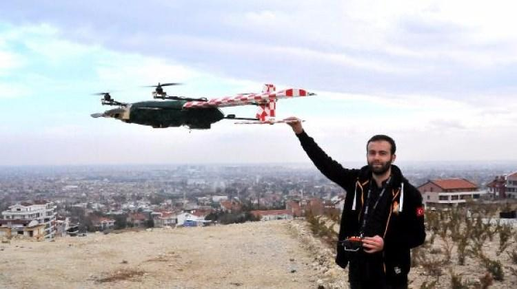 Üniversiteli öğrenciler insansız hava aracı yaptı