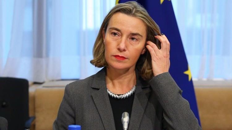 Mogherini: AB Rusya'ya yaptırımları sürdürecek