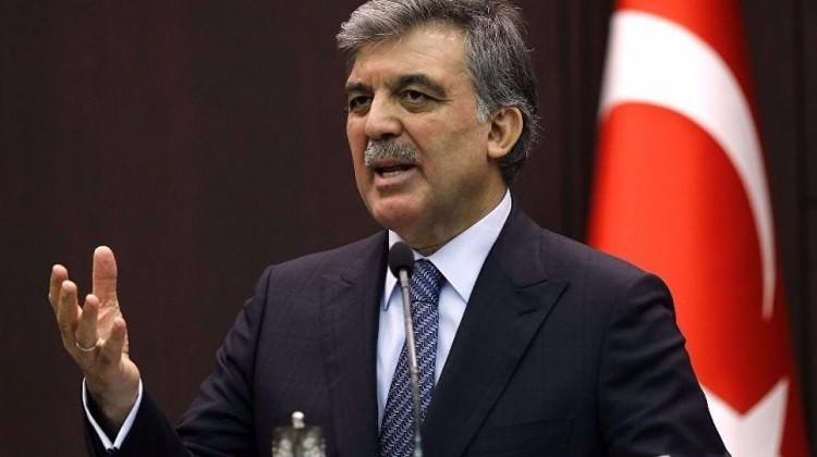 Tepkiler sonrası Abdullah Gül'den açıklama geldi!