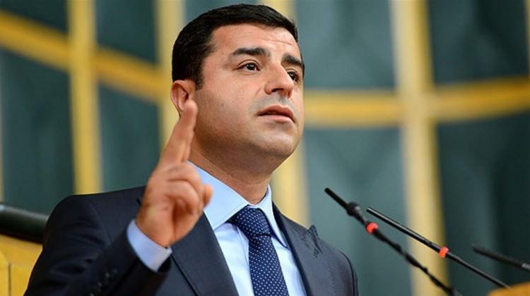 Demirtaş'tan mahkemeye 12 sayfalık dilekçe