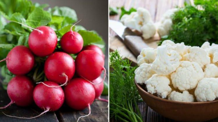 Karnabahar ve turpun faydaları