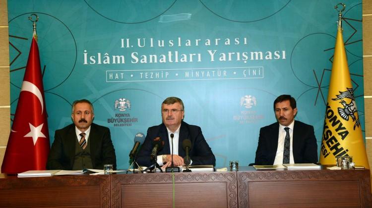 Uluslararası İslam Sanatları Yarışması başladı