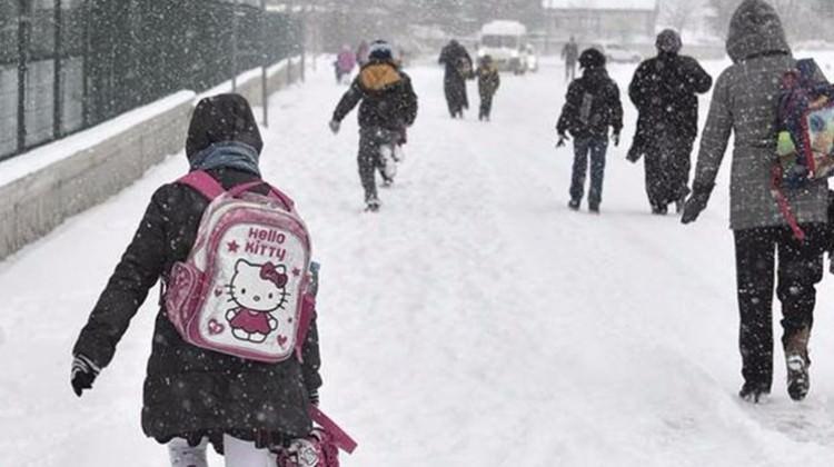 Valilik açıkladı: Okullar tatil edildi