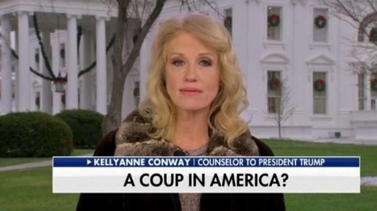 ABD tutuştu! TV'de 'darbe' KJ'si!
