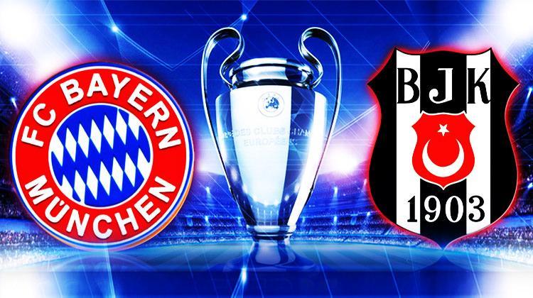 Beşiktaş ile eşleşen Bayern'den büyük gaf!